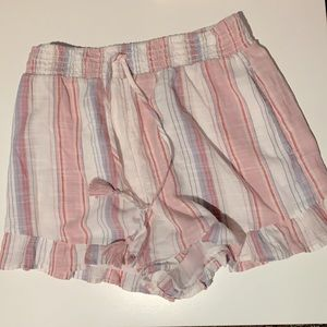 American Eagle Outfitters Soft Shorts with Ruffle